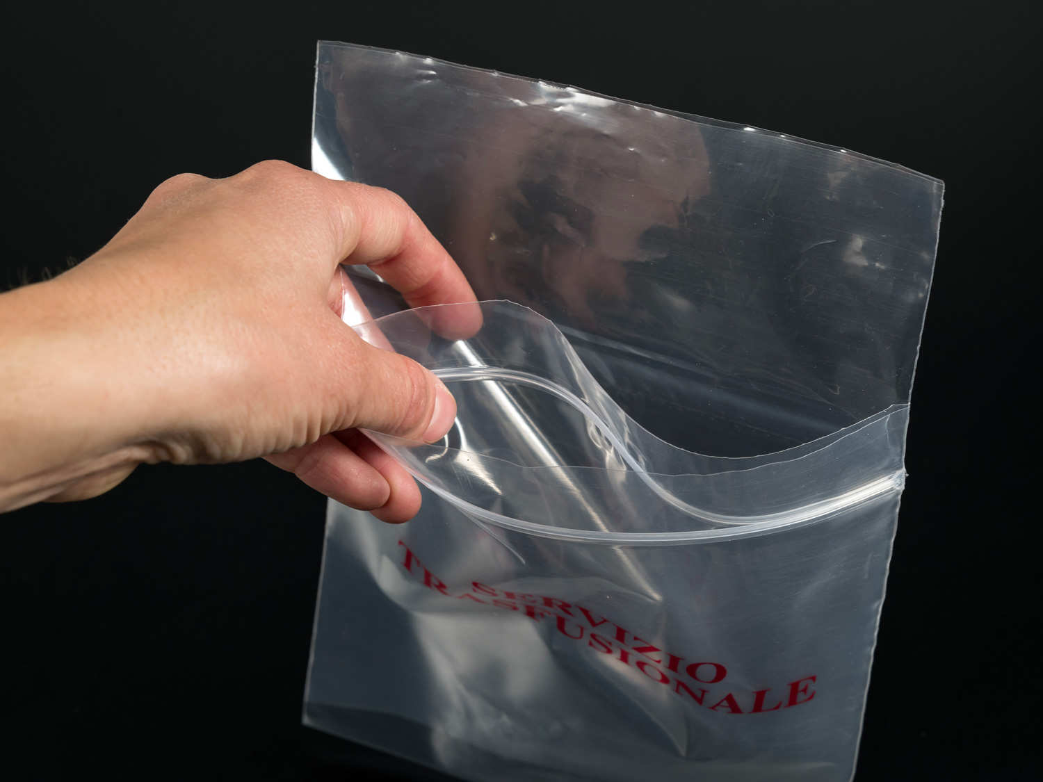 Buste Biohazard doppia tasca campioni laboratorio BIOHAZARD SPECIMEN BAGS WITH DUAL POCKET FOR LAB SAMPLES TRANSPORT